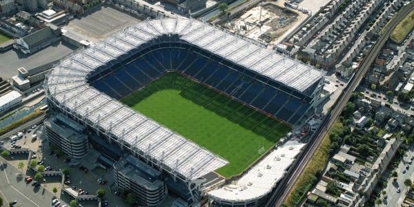 Safety Net Protections Systems Projects: Croke Park. Fall Protection Systems | Irish Safety Netting